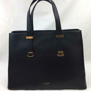 TED BAKER Alexiis grained leather tote